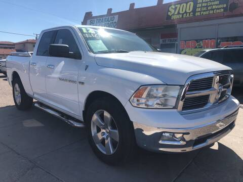 2012 RAM Ram Pickup 1500 for sale at Sunday Car Company LLC in Phoenix AZ