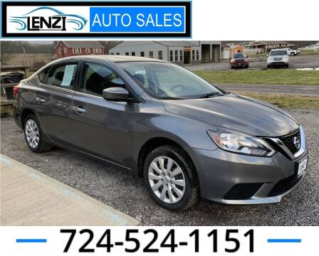 2018 Nissan Sentra for sale at LENZI AUTO SALES in Sarver PA