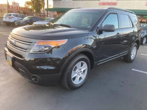 2013 Ford Explorer for sale at La Mesa Auto Sales in Huntington Park CA