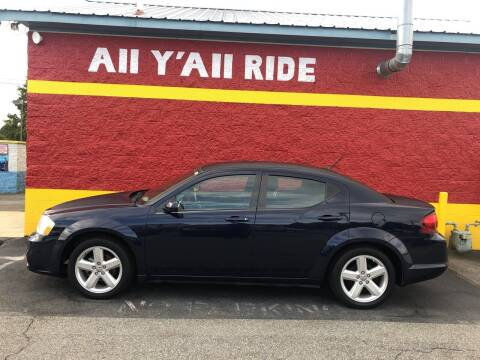 2013 Dodge Avenger for sale at Big Daddy's Auto in Winston-Salem NC