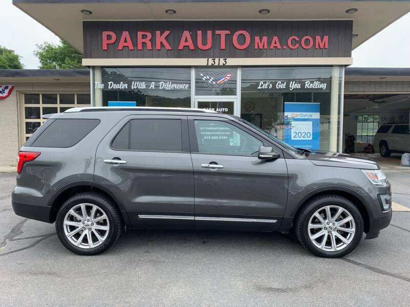2016 Ford Explorer for sale at Park Auto LLC in Palmer MA