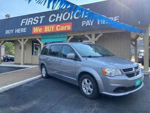 2013 Dodge Grand Caravan for sale at First Choice Auto Sales in Rock Island IL