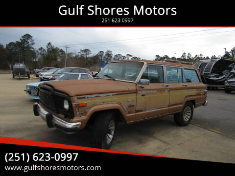 1981 Jeep Wagoneer for sale at Gulf Shores Motors in Gulf Shores AL