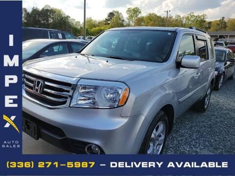 2015 Honda Pilot for sale at Impex Auto Sales in Greensboro NC