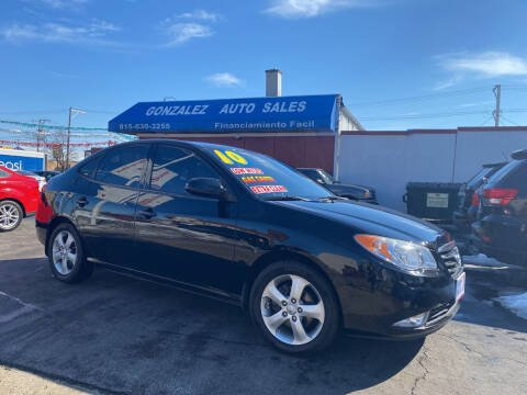 2010 Hyundai Elantra for sale at Gonzalez Auto Sales in Joliet IL