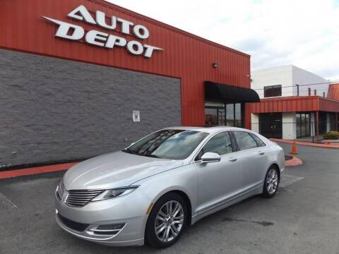 2013 Lincoln MKZ for sale at Auto Depot of Smyrna in Smyrna TN