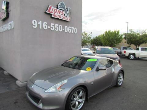 2009 Nissan 370Z for sale at LIONS AUTO SALES in Sacramento CA
