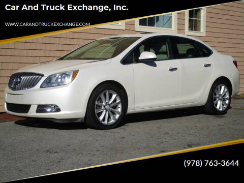 2013 Buick Verano for sale at Car and Truck Exchange, Inc. in Rowley MA