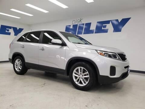 2014 Kia Sorento for sale at HILEY MAZDA VOLKSWAGEN of ARLINGTON in Arlington TX