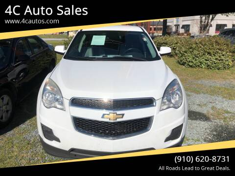 2013 Chevrolet Equinox for sale at 4C Auto Sales in Wilmington NC