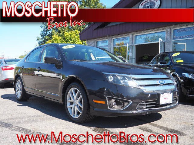 2010 Ford Fusion for sale at Moschetto Bros. Inc in Methuen MA