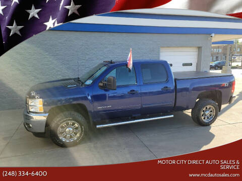 2013 Chevrolet Silverado 2500HD for sale at Motor City Direct Auto Sales & Service in Pontiac MI
