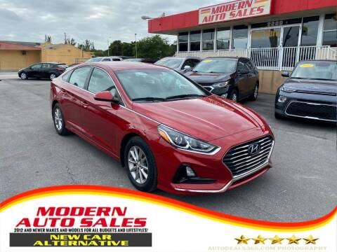 2018 Hyundai Sonata for sale at Modern Auto Sales in Hollywood FL