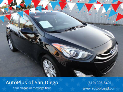 2014 Hyundai Elantra GT for sale at AutoPlus of San Diego in Spring Valley CA