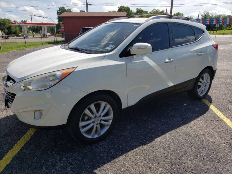 2011 Hyundai Tucson for sale at Rons Auto Sales in Stockdale TX