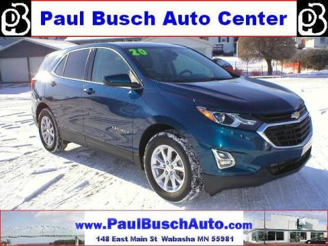 2020 Chevrolet Equinox for sale at Paul Busch Auto Center Inc in Wabasha MN