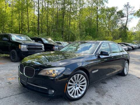 2009 BMW 7 Series for sale at Car Online in Roswell GA