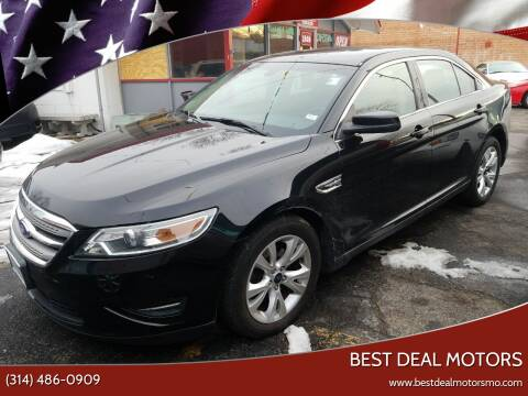 2012 Ford Taurus for sale at Best Deal Motors in Saint Charles MO