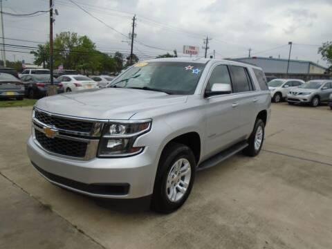 2015 Chevrolet Tahoe for sale at BAS MOTORS in Houston TX