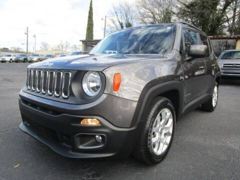 2017 Jeep Renegade for sale at Lewis Page Auto Brokers in Gainesville GA