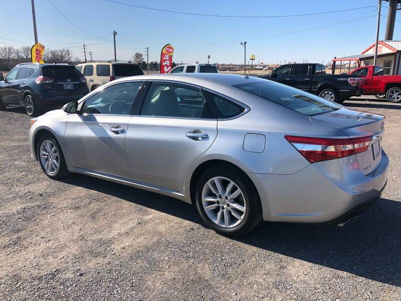2015 Toyota Avalon XLE 4dr Sedan - Fort Gibson OK