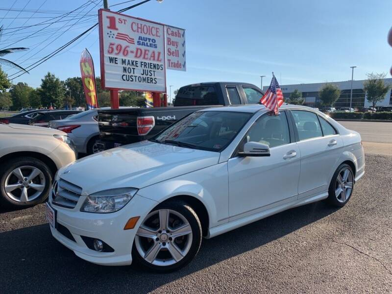 2010 Mercedes-Benz C-Class for sale at 1st Choice Auto Sales in Newport News VA