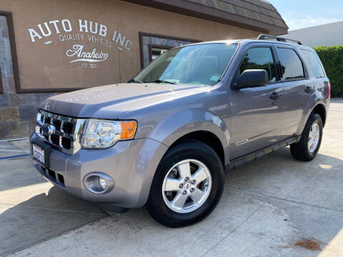 2008 Ford Escape for sale at Auto Hub, Inc. in Anaheim CA