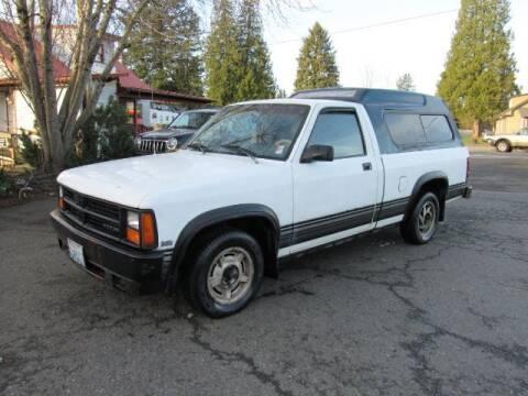 1988 Dodge Dakota for sale at Triple C Auto Brokers in Washougal WA