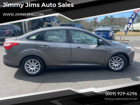 2012 Ford Focus for sale at Jimmy Jims Auto Sales in Tabernacle NJ