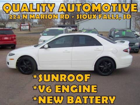 2008 Mazda MAZDA6 for sale at Quality Automotive in Sioux Falls SD