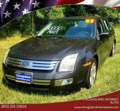 2007 Ford Fusion for sale at Chicagoland Internet Auto - 410 N Vine St New Lenox IL, 60451 in New Lenox IL