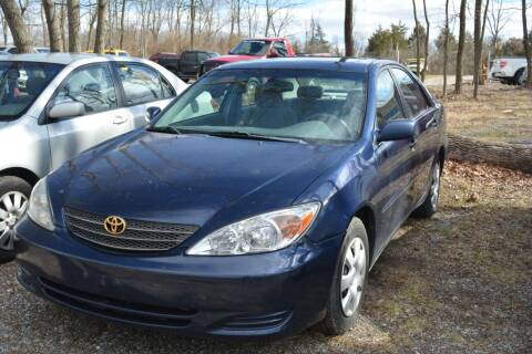 2003 Toyota Camry for sale at Noble PreOwned Auto Sales in Martinsburg WV