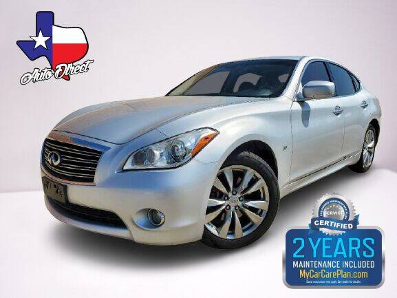 2014 Infiniti Q70 for sale at AUTO DIRECT in Houston TX