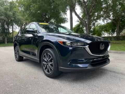2018 Mazda CX-5 for sale at DELRAY AUTO MALL in Delray Beach FL