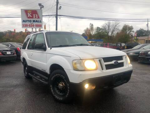 2001 Ford Explorer Sport for sale at KB Auto Mall LLC in Akron OH