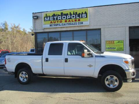 2016 Ford F-250 Super Duty for sale at Metropolis Auto Sales in Pelham NH