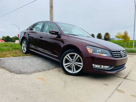2012 Volkswagen Passat for sale at Midwest Autopark in Kansas City MO