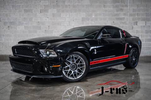 2011 Ford Shelby GT500 for sale at J-Rus Inc. in Macomb MI