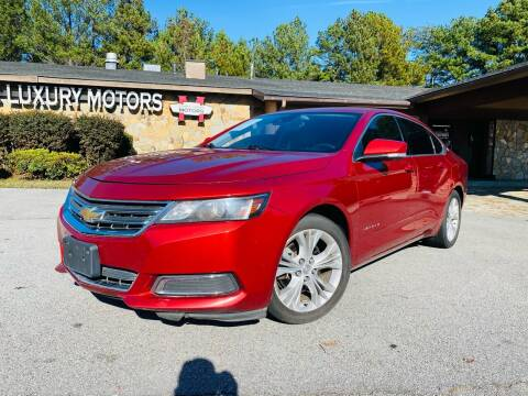 2014 Chevrolet Impala for sale at Classic Luxury Motors in Buford GA
