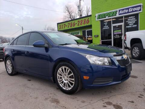 2012 Chevrolet Cruze for sale at Empire Auto Group in Indianapolis IN