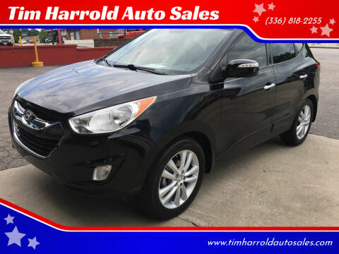 2010 Hyundai Tucson for sale at Tim Harrold Auto Sales in Wilkesboro NC