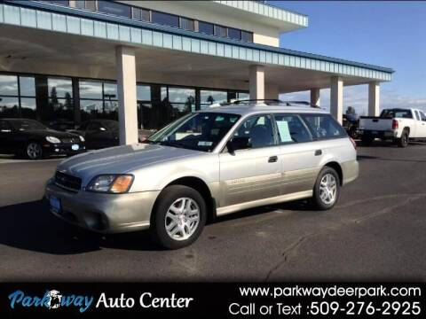 2003 Subaru Outback for sale at PARKWAY AUTO CENTER AND RV in Deer Park WA