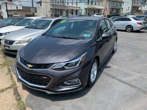 2017 Chevrolet Cruze for sale at Butler Auto in Easton PA