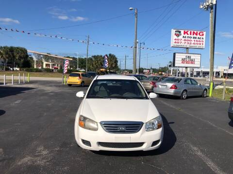 2009 Kia Spectra for sale at King Auto Deals in Longwood FL
