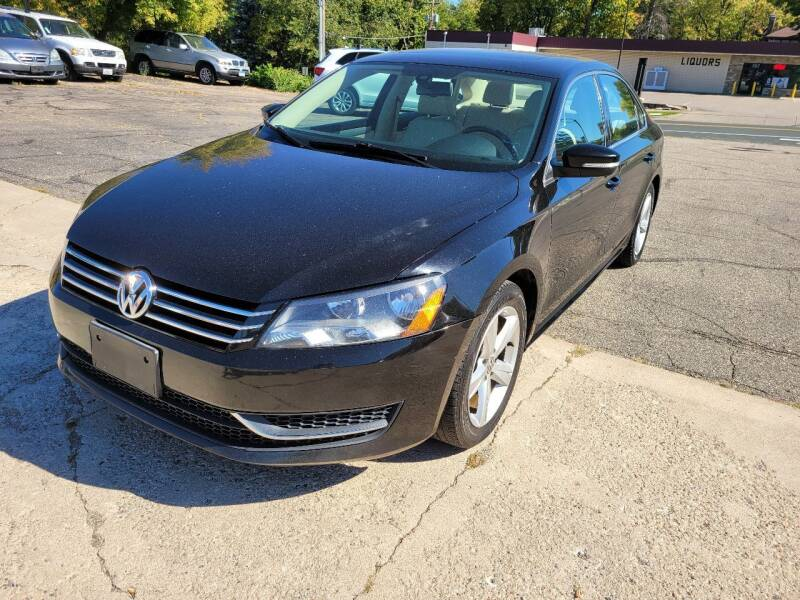 2013 Volkswagen Passat for sale at Prime Time Auto LLC in Shakopee MN