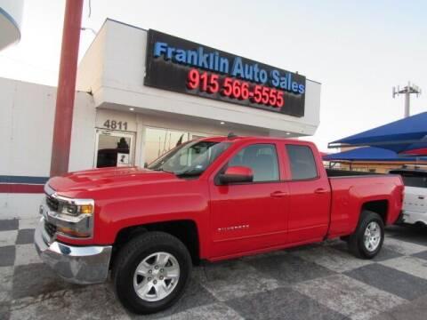 2019 Chevrolet Silverado 1500 LD for sale at Franklin Auto Sales in El Paso TX