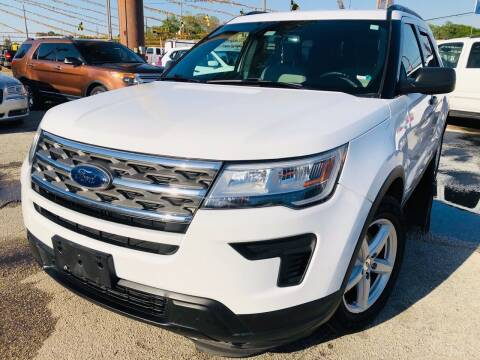 2018 Ford Explorer for sale at Lion Auto Finance in Houston TX