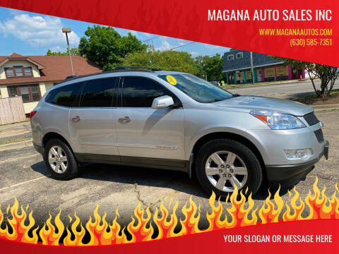 2009 Chevrolet Traverse for sale at Magana Auto Sales Inc in Aurora IL