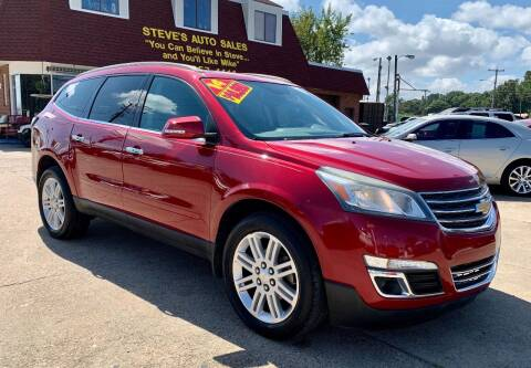 2014 Chevrolet Traverse for sale at Steve's Auto Sales in Norfolk VA