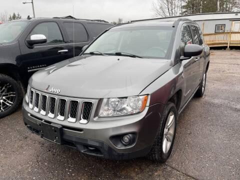 2012 Jeep Compass for sale at Al's Auto Inc. in Bruce Crossing MI